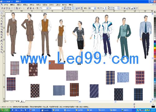 15天服装设计软件PS、AI、CDR(图6)