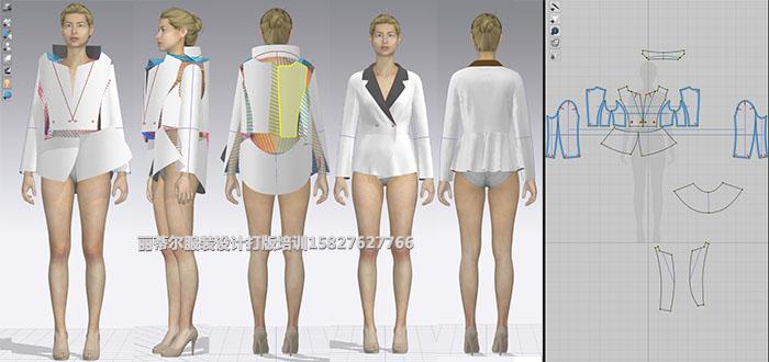 3D打版试衣高手班【男装、女装、童装】(图5)